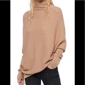 All Saints Sweaters - All Saints Ridley Funnelneck Lambswool Sweater